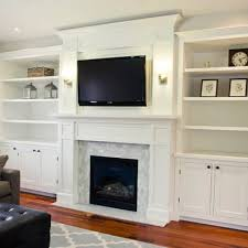 Bookcases Around Fireplace Family Room | bookshelves around fireplace page  2 bookshelves around fireplace page ... | living spaces | Pinterest | Room,  ...