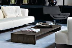 low wooden coffee table rectangle shape white low coffee table for modern living room with cream