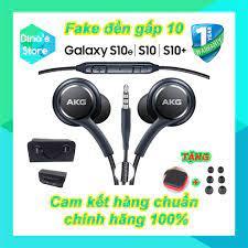 Tai nghe Samsung Galaxy S10, Samsung S10 Plus kèm bộ núm - Tai nghe AKG -  Cam kết hàng zin bóc máy 100%