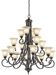 chandelier 16lt led