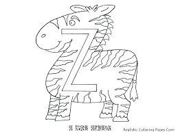 Alphabet Coloring Pages A Z Letter Coloring Pages For Preschoolers
