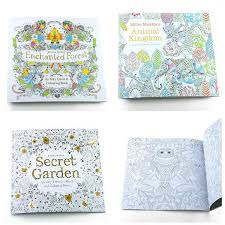 new baby secret garden coloring book painting drawing book 24 pages kingdom enchanted forest relieve