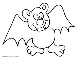 Bat Coloring Pages Bat Coloring Pages Printable Page Baseball