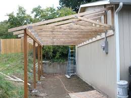 how to build a shed foundation on uneven ground carport foundation