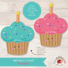 31 Detailed Free Printable Birthday Chart For Teachers