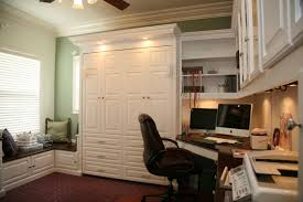 home office with murphy bed. Pacific Coast Custom Design - Wallbeds Murphy Style Hide-a-Bed Fold Up Bed That Looks Like Cabinets And Drawers With Display Storage Home Office I