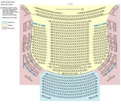 Verizon Hall Seating Chart Verizon Hall Seating Charts Kimmel Center