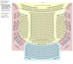 Verizon Hall Seating Chart