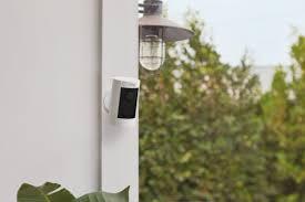 Outdoor Light Fixture Security Camera Ring Debuts New Indoor Outdoor Security Cameras And Led