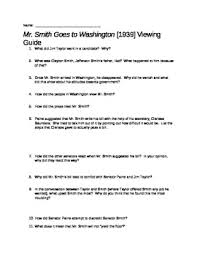 mr smith goes to washington film questions civics worksheets mr smith goes to washington movie guide