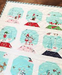 Best 25+ Christmas quilting ideas on Pinterest | Quilted table ... & Christmas holiday snow globe quilt - Tasha Noel Adamdwight.com