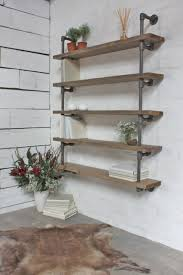 Industrial Bookcase Diy Rustic Industrial Bookcase Ideas Design Ideas Decors