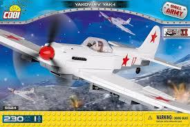 Самолет ЯК-1 с одной фигуркой человека ... - Конструктор COBI