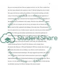 Technology Appliance In Saudi Arabic Education Term Paper