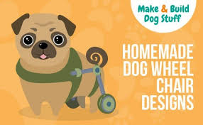 11 easy diy dog wheelchair ideas on a