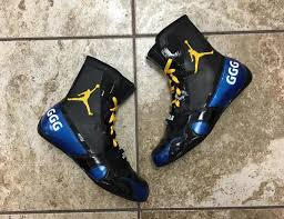 under armour boxing shoes. jordan boxing boots by mache customs for ggg under armour shoes b