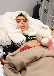 Image result for 2012 Malala Yousafzai attacked