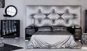 black and silver bedroom furniture. Fenix Ff35 Bedroom Set In Black \u0026 Silverfranco Furniture I Get Inside And Silver O