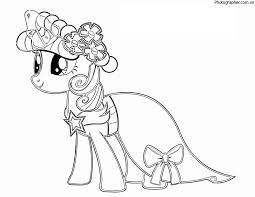 Tuyển tập các mẫu tranh tô màu ngựa Pony đẹp nhất cho bé
