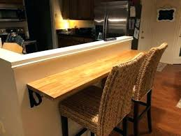 wall mounted bar countertop half wall for breakfast bar or remove wall mounted bar table home wall mounted bar countertop