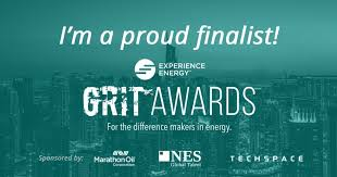 Gritty Growth Chart Flyers Announcing The Finalists For The 2018 Grit Awards Pink