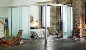 loft room dividers  custom sliding glass room dividers for lofts