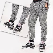 jordan joggers mens. mens joggers grey cement print jordan joggers mens