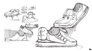 Industrial design sketches shoes Concept Share Alexander Forestier Industrial Design Assorted Sketches Footwear On Ccs Portfolios
