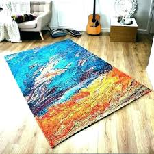 attractive blue and orange rug or turquoise and orange rug area attractive bright rugs grey awesome