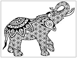 Cheerful Free Elephant Coloring Pages J9966 X Amazing Free Elephant