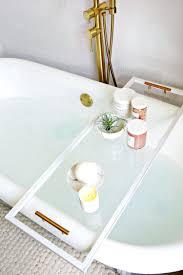 bathtub caddy wooden bath tray target plans