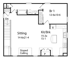 Garage Plan With Apartment Above  69393AM  Architectural Designs Garage With Apartment Floor Plans