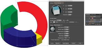 3d Pie Chart In Illustrator Yeehaw Up