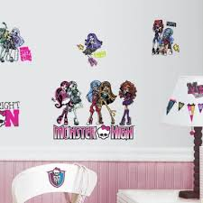 Our Gallery Of Fanciful Monster High Wall Decor Bedroom Ideas Jades Room