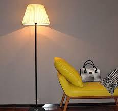 Einfaches Schlafzimmer Wohnzimmer Studie Mit Dekorativen Stehlampe