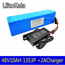 <b>LiitoKala 36V12AH</b> battery pack, 20A 500W, built in BMS for electric ...