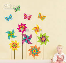 colorful windmill butterfly wall art for kids room on cream wall for nursery room decor with on childrens room wall art with wall art best images wall art for kids room wall art for kids kids