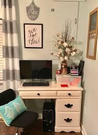 cute little office space small cute happy college desk computer desk