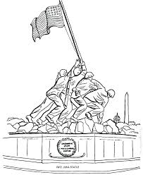Veterans Day Printable Coloring Pages Of Veterans Day Ble