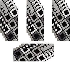 HEFUTE <b>15pcs Stair Treads</b> Carpet Rugs 8 Inches x 20 Inches ...
