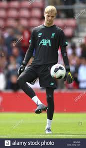 Liverpool goalkeeper Caoimhin Kelleher ...