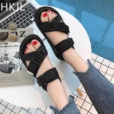 <b>HKJL New</b> 2019 Women Beach Sandals <b>Summer</b> Ladies Flip Flops ...