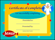 certificates of completion for kids free certificates of completion for childrens ministry