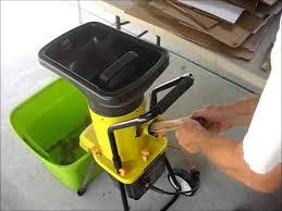 garden mulcher. Duro Star Eco Shredder ES1600 Electric Garden Yard Leaf Waste Chipper Mulcher