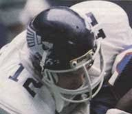 rice university football helmet.  University Navy Shell With Large White Flying Owl Logo On Sides Facemasks For Rice University Football Helmet