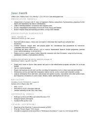 Example Good Resume – Resume Bank
