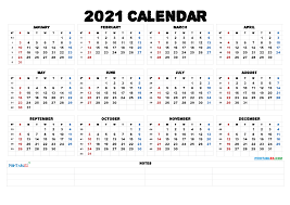 Clear design calendar with awesome fonts, which makes it easy to view and download. 2021 Printable Yearly Calendar With Week Numbers 21ytw52 Free Printable 2021 Monthly Calendar With Holidays