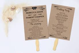 Styles Ideas Half Fold Wedding Program Template Wedding