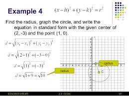 2 3 circles105 24 2016 4 02 am example 4 find the radius