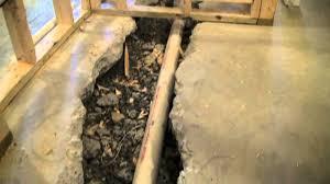 basement bathroom sewage ejector pump system